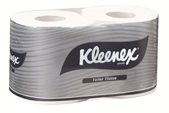 KLEENEX® Executive Toilet Tissue Twin Pack