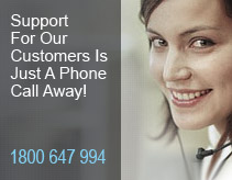 Support for our customers. It is just a phone call away.