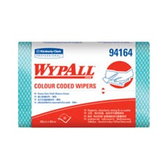 WYPALL* Colour Coded Heavy Duty Cloth Wipers - Wipers