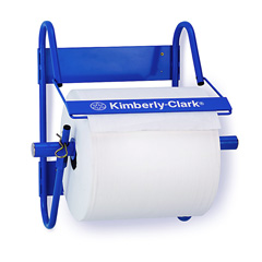 rs110 4951 kimberly-clark wall mounted jumbo roll dispenser