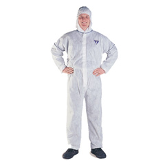 KLEENGUARD* A20 Disposable Overalls White