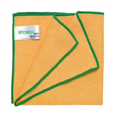 rs218 83610 wypall microfibre cloths microban protection yellow